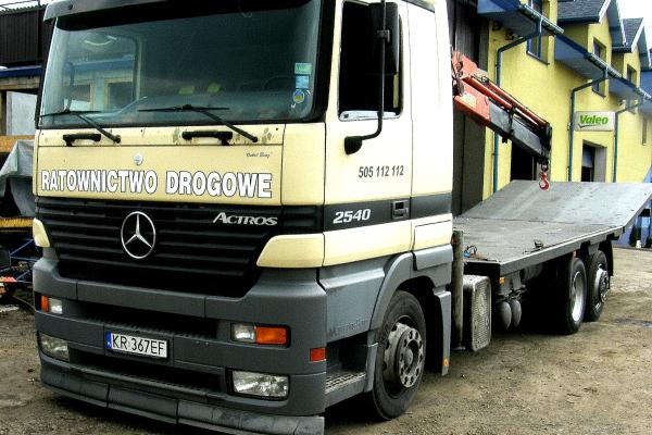 Usługi transportowe dla przemysłu.