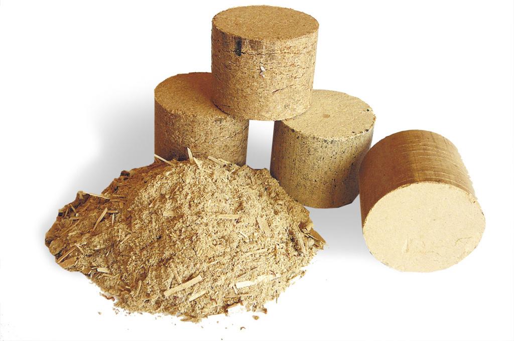 Jak produkowany jest brykiet z trocin?