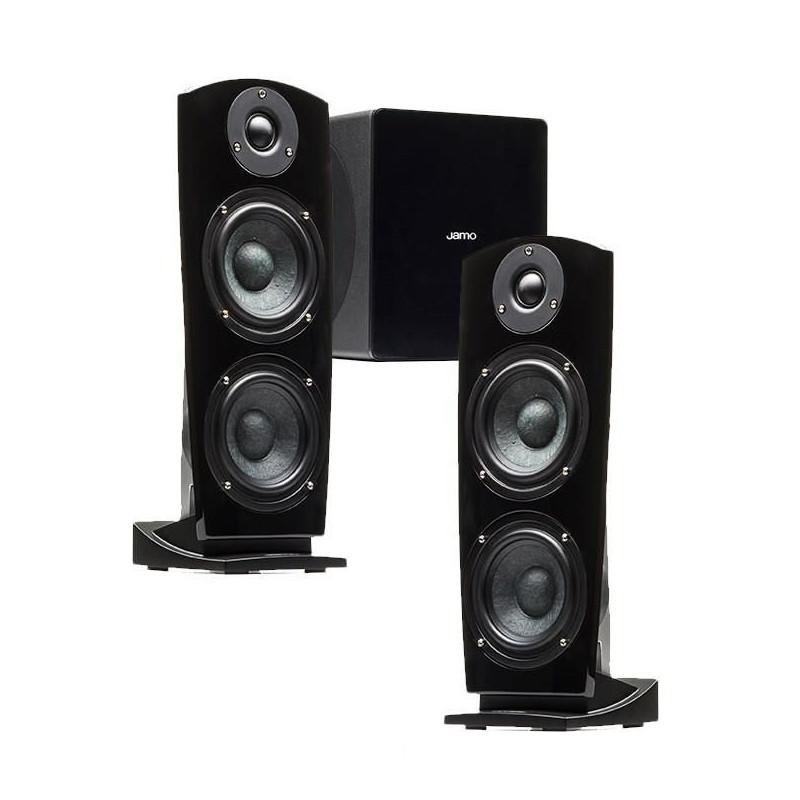 Wzmacniacz stereo do nagłośnienia domowego.