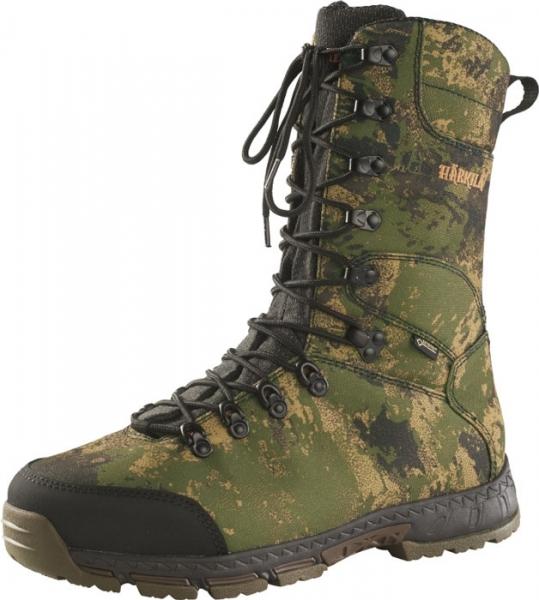 Lekkie buty myśliwskie z membraną i kamuflażem