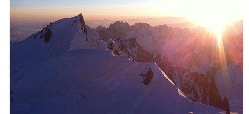 Niewymagający, przystępny trekking wokół Mont Blanc.