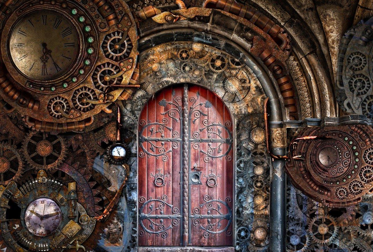 Nowe drzwi do naszego domu.